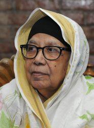 Mrs. Tahrunnesa Abdullah